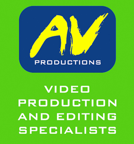 Audio video production banner
